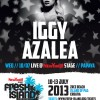 Fresh Island presents: Iggy Azalea Live @ Papaya New Yorker Stage + more new names announced!