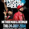 Method Man & Redman confirmed for Fresh Island Festival 2014!