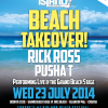 Fresh Island beach takeover!
