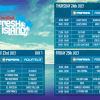 Official Timetable for New Yorker Fresh Island Festival 2014