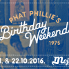 Phat Phillie's Birthday Weekend @ Mojo Bar, Zagreb (21. – 22. 10.)