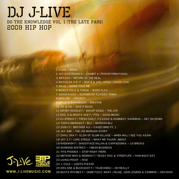 2331892635 1 J​ ​Live   Do The Knowledge Mixtape Vol. 1