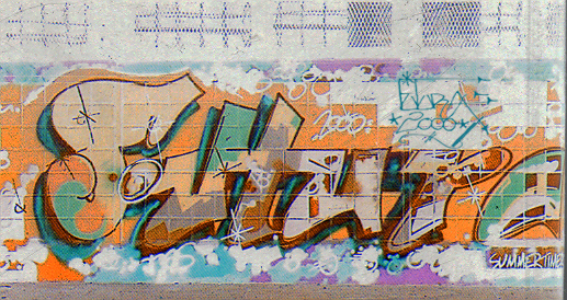 1980s that graffiti as well as the hip hop lifestyle came to the