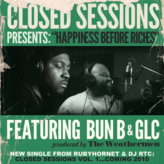 HappinessBeforeRichesCover 2 Bun B & GLC   Happiness Over Riches
