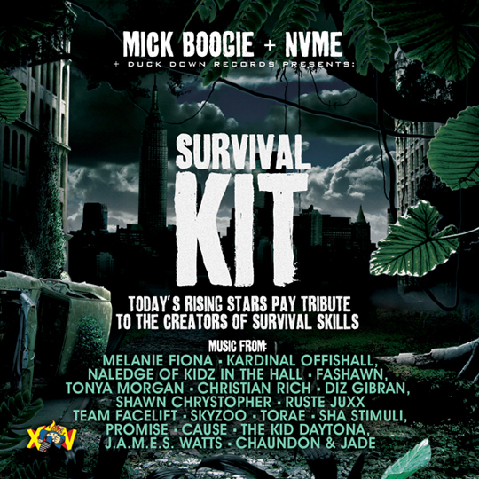 Survival Kit Cover1 Tanya Morgan   Gotcha Opin Original