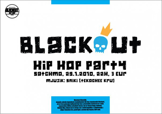 blackout Blackout Party @ Satchmo (Maribor)