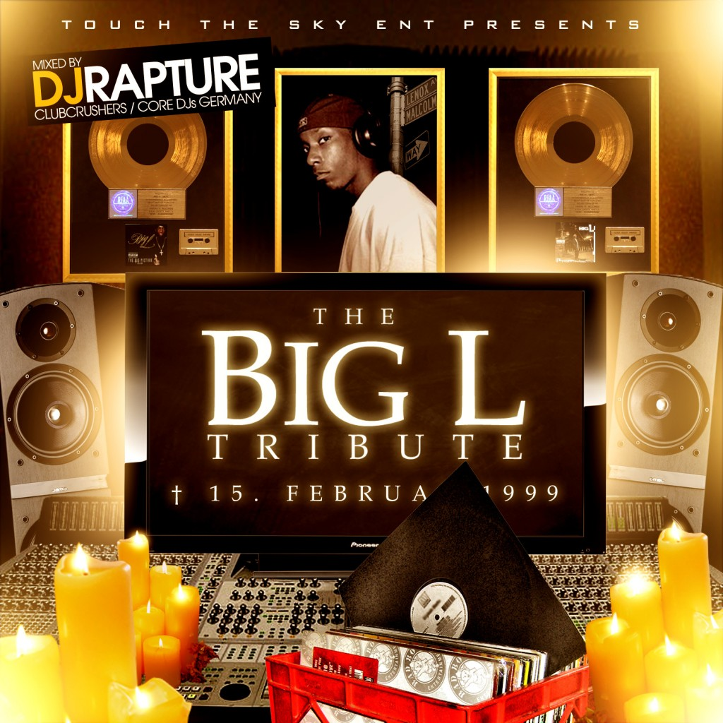 DJ RAPTURE BIG L TRIBUTE Cover 1024x1024 DJ Rapture   Big L Tribute Mixtape
