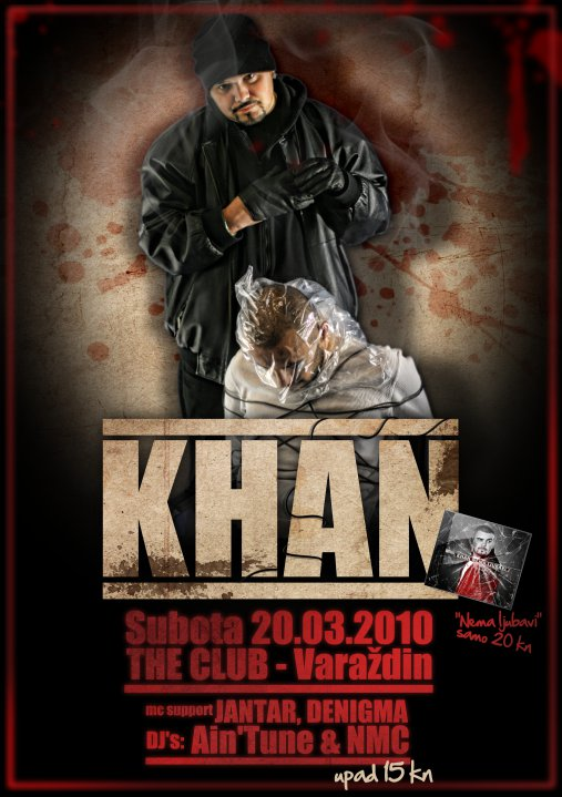 27253 382647244848 755164848 3924363 403624 n Khan Live @ The Club (Varaždin)