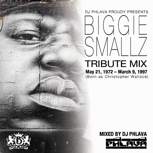 biggie cover Biggie Smallz Tribute Mix by DJ Phlava