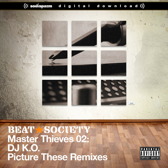 dj ko beat society picture these remixes DJ K.O. feat. Edo G, Diamond D & Silent Knight   Nobody Like Me (Madwreck Remix)