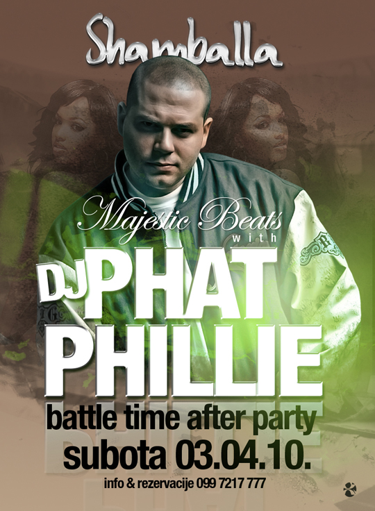 phillie copy Majestic Beats w/ DJ Phat Phillie @ Shamballa