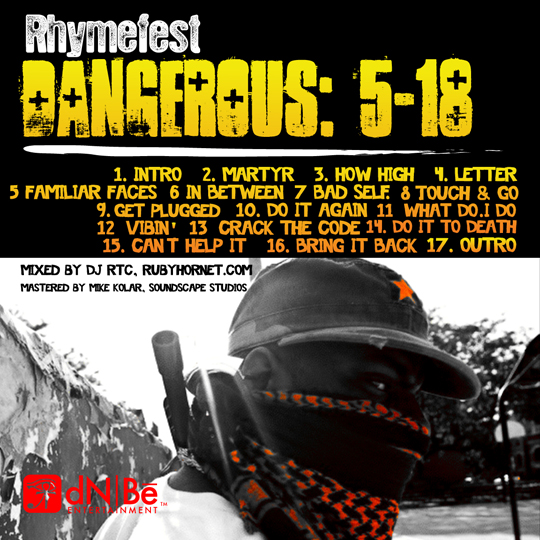 rhymefest dangerous 5 18 Rhymefest   Familiar Faces