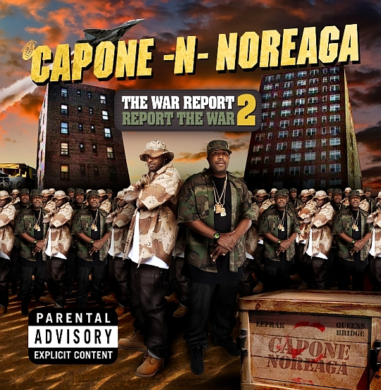 CNN The War Report 2 Cover Capone N Noreaga Feat. Faith Evans   Hood Pride