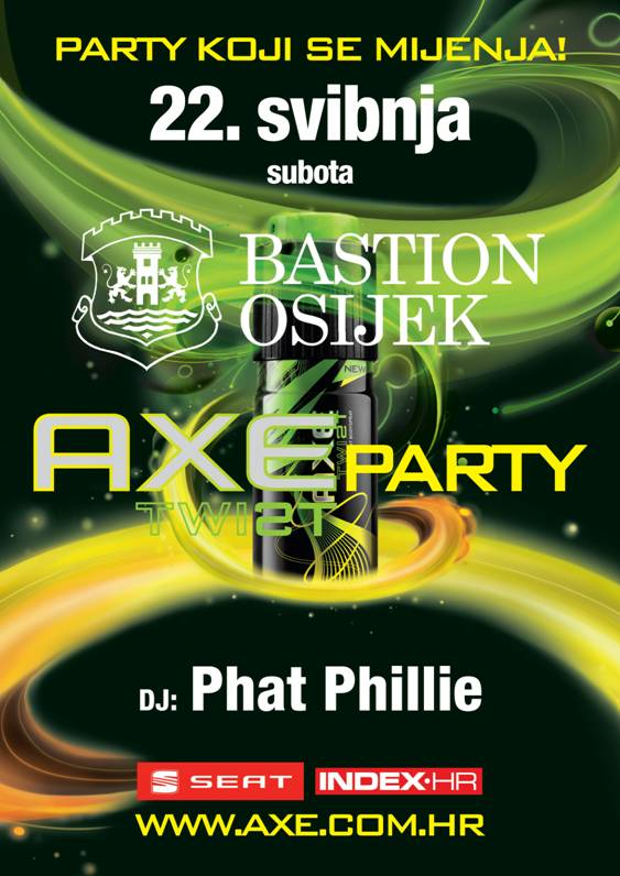 bastion Axe Party @ Bastion (Osijek)