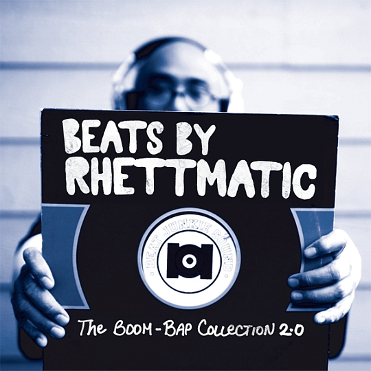 mixtape front revised Beats By Rhettmatic: The Boom Bap Collection 2.0