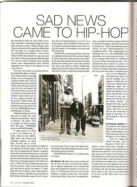 xxl1 copy XXL article on Gurus death