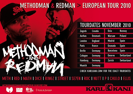 Method man KARL KANI flyer2 Karte za koncert Method Mana i Redmana u prodaji!