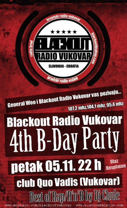 71744 171136846233275 100000108836787 650981 6154593 n Blackout Radio Vukovar 4th B Day Party @ Quo Vadis