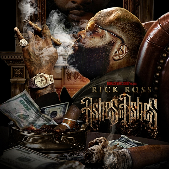 ashestoashesfrontcover Rick Ross   Ashes To Ashes (Mixtape)