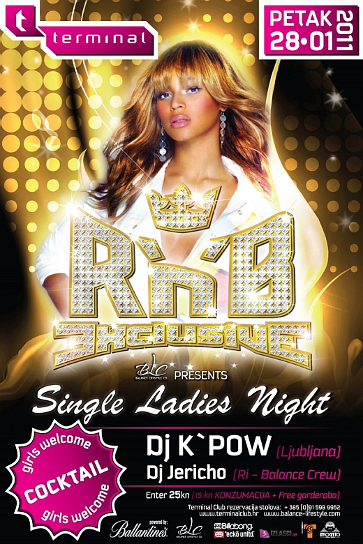 28.01.2011 1280x768 DJ KPow @ RnB EXCLUSIVE (Terminal Club, Rijeka)