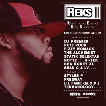 REKS R.E.K.S. Rhythmatic Eternal King Supreme REKS   Rhythmatic Eternal King Supreme (Tracklist)