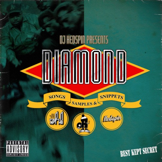 DIAMOND D HEDSPIN FRONT 540x540 DJ Hedspin: Diamond D   Songs, Samples & Snippets