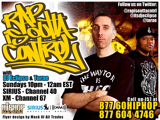 rioc flyer2 hires Rap Is Outta Control Podcast (19.06.2011)