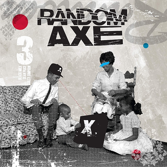 Random.Axe .Album .Cover .Web  Random Axe Album Cover & Track Listing