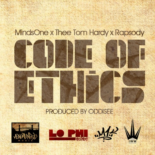 CoE 540x540 MindsOne   Code Of Ethics (Prod. by Oddisee)