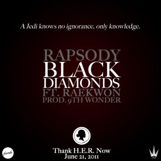 rapsody raekwon 9th 540x540 Rapsody & Raekwon   Black Diamonds (Prod. by 9th Wonder)
