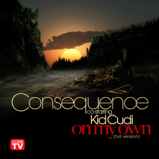 Consequence Kid Cudi On My Own 540x540 Consequence feat. Kid Cudi   On My Own (prod. by Kanye West)