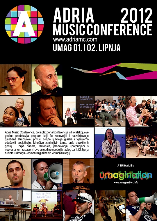 AMC oglas Adria Music Conference 2012 @ Umag