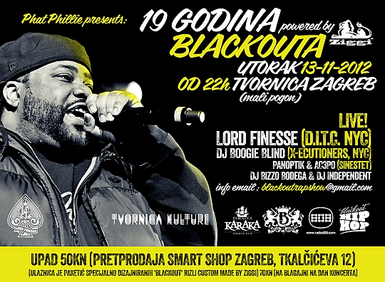 LORD FINESSE TVORNICA Meet & greet s Lord Finesseom u Smart Shopu!
