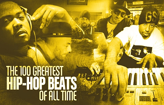 100 best hiphop beats The 100 Greatest Hip Hop Beats Of All Time