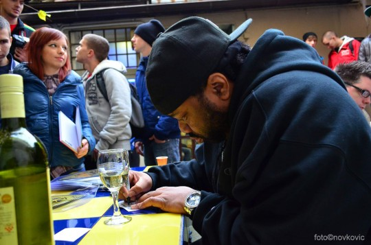 10S 52501 540x357 Galerija: Lord Finesse Meet & Greet @ Smart Shop (Zagreb)