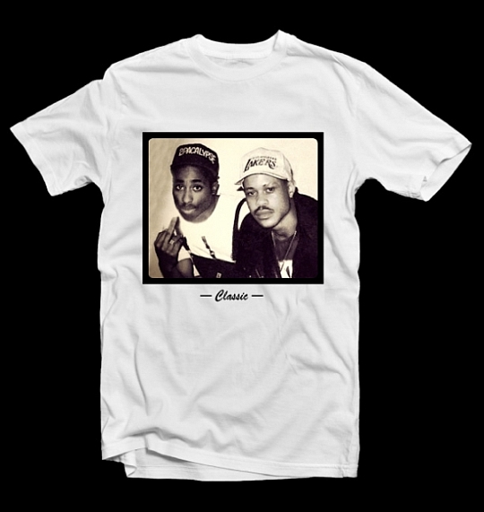 Tupac Guru Tee classic Guru & 2Pac T Shirt now available @ The X Label
