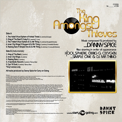 dback Danny Spice   The King Amongst Thieves (EP)