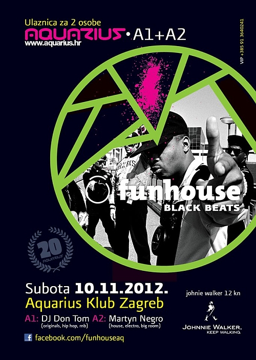 funhouse DJ Don Tom @ Funhouse Black Beats (Aquarius)