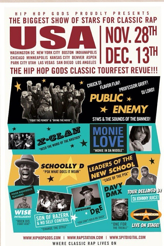 hh classics The HipHopGods Tourfest Revue