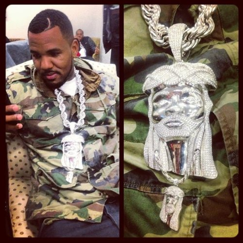 The Game Jesus Piece Chain Game Feat. Common & Kanye West   Jesus Piece