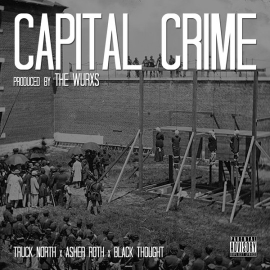 capitalcrime 540x540 Truck North Feat. Black Thought & Asher Roth   Capital Crime