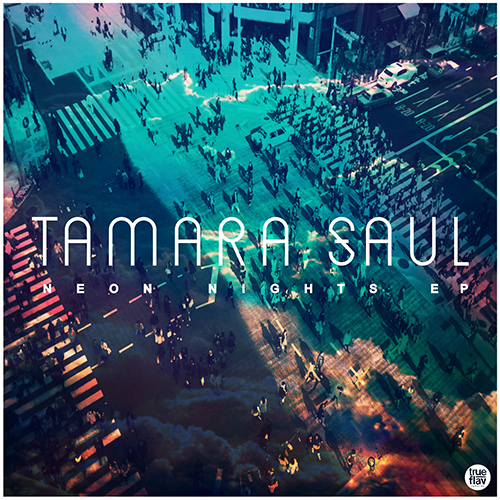 coverTamara04 Tamara Saul   Neon Nights (EP)