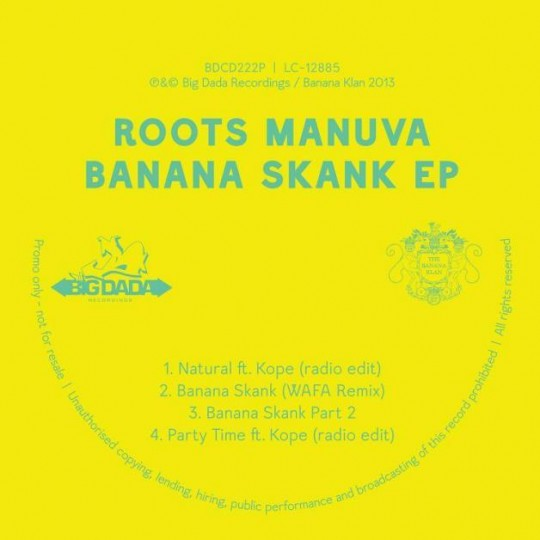 roots manuva banana skank EP 540x540 Roots Manuva Feat. Kope   Party Time