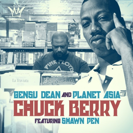 b8j9 GDPA1 540x540 Gensu Dean & Planet Asia Feat. Shawn Pen   Chuck Berry