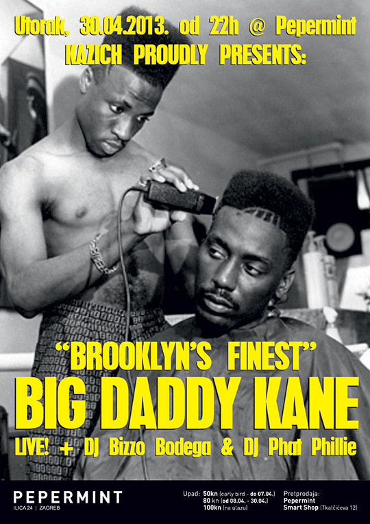 11 Kazich 30 04 2013 A3 preview2 Big Daddy Kane @ Kazich (Radio Jingle)