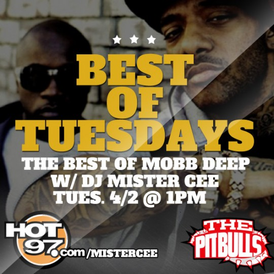 Best of Mobb Deep 540x540 Mister Cees Best Of Tuesdays Mix: Mobb Deep Edition