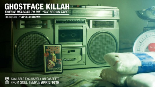 GFK 540x303 Ghostface Killah & Apollo Brown   Twelve Reasons To Die: The Brown Tape