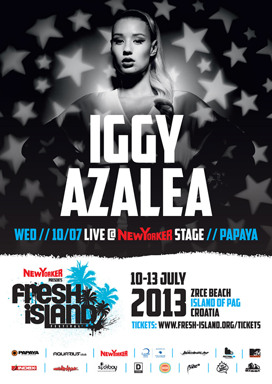 Iggy Azalea flyer A6 preview 1 1 Fresh Island presents: Iggy Azalea Live @ Papaya New Yorker Stage + more new names announced!