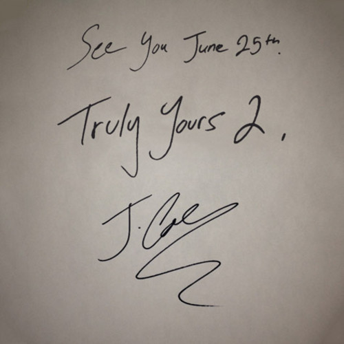 artworks 000046902814 bgsjxu t500x500 J. Cole   Truly Yours 2