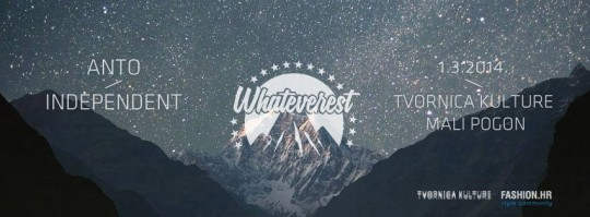 WHATEVEREST FLYER 540x199 Whateverest večeras u Tvornici!